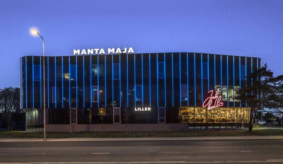 Manta Maja business building