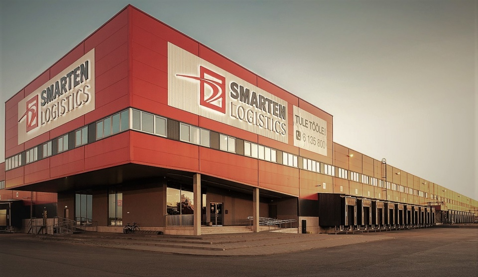 Warehouse and office building of Smarten Logistics